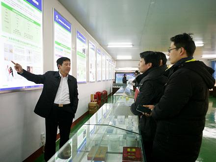 【专题】亳州中医院负责人一行来华佗文化研究会文化交流