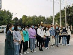 河南高校许昌学院师生参观学习sunbet下载生物科技有限公司